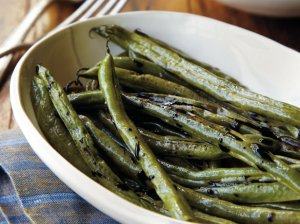 green beans with balsamic